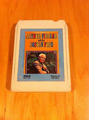 The Best Of Arthur Fiedler Boston Pops 8-TRACK  8-track Tape
