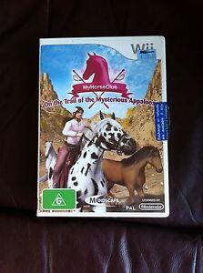 Wii game My Horse Club Kingston Kingborough Area Preview