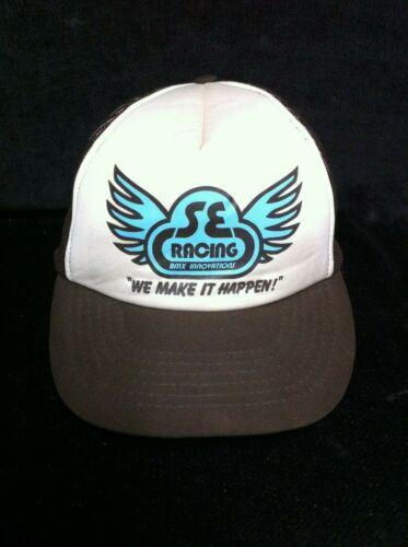 Rare NOS Original 1979 SE RACING TRUCKER HAT Old School BMX Vintage Cap PK Quad