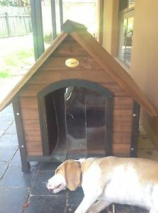 Animates med size dog kennel weather proof NEVER USED $175 Carrara Gold Coast City Preview
