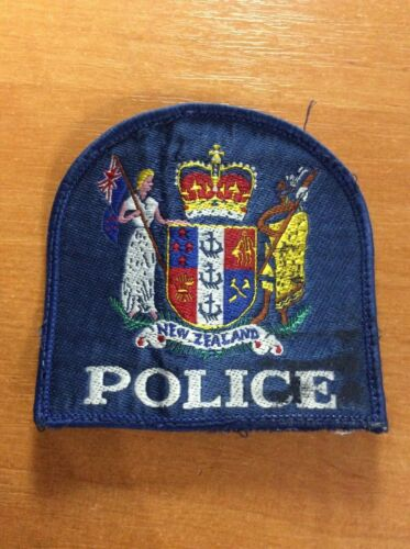 NEW ZEALAND PATCH POLICE NATIONAL
