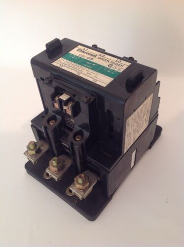 Aromat Green Power Contactor FC190U FC120V SIZE 4 - 200 Amp