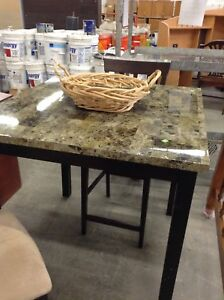 Gently used table with 2 chairs at the HFH restore