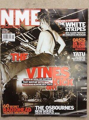 NME New Musical Express 8/2/03 The Vines, The Used, Tatu, Paloalto