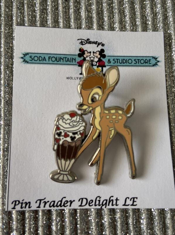 PTD DSF DSSH Pin Trader Delight Bambi LE 300 - Disney Pin Trading NEW