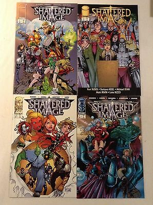 SHATTERED IMAGE (1996) 1 2 3 & 4 COMPLETE LIMITED SERIES SPAWN & DRAGON & GEN 13