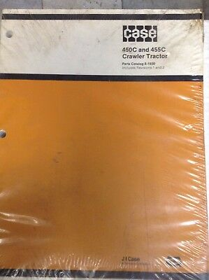 Case 450c 455c Crawler Tractor Parts Catalog Manual 8-1930-rev.12
