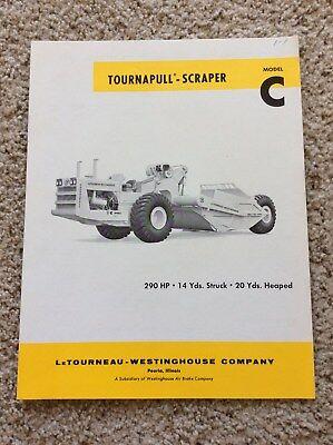 1962 Letourneau-westinghouse Co. Scraper Sales Handout