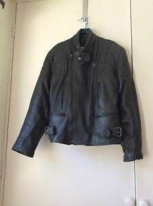 Men's leather motorcycle jacket. Melba Belconnen Area Preview