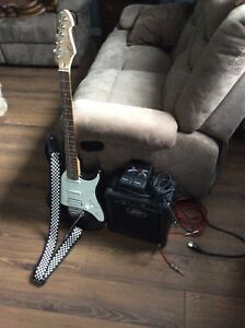 Electric Guitar & Amp