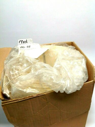 MOL 2R5-0W PVC 2 Ply White Food Grade Conveyor Belt 12 Inch W x 16.10 Long