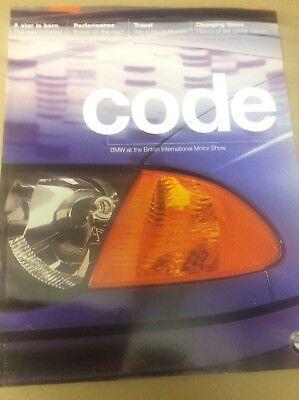 BMW Code magazine from 1998 British Motor Show