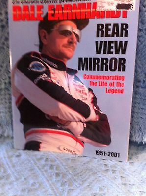 Nos 2001  The Charlotte Observer Presents Dale Earnhardt  Rear View Mirror Book
