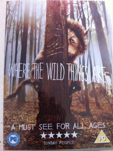 WHERE THE WILD THINGS ARE ~ 2009 Live-Action Spike Jonze Family Fantasy | DVD