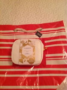 Glasshouse Candle/Hand Creme/Makeup Case/Striped Bag Shell Cove Shellharbour Area Preview