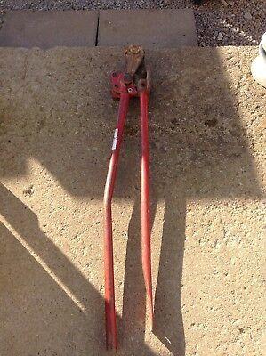 H.k. Porter 0590rbj Rebar Cutter 58 In Maximum 52 In L Steel