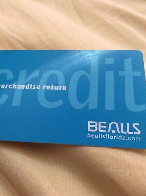 Bealls Dept Store Credit Or Merchandise Card With  103 61  Card Does Not Expire
