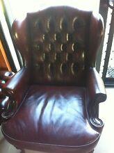 Chesterfield Moran leather lounge Peakhurst Hurstville Area Preview