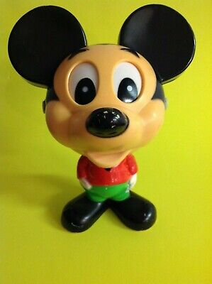 Vintage Disney Mickey Mouse Mattel Chatter Chums Pull String Talking Toy 1976