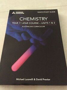Chemistry Year 11 WACE Study Guide Rivervale Belmont Area Preview