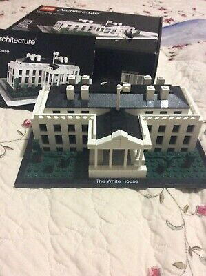 LEGO Architecture White House (21006) -Retired Set- please read