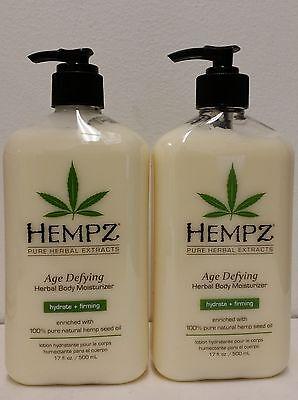 2 of Hempz Lotion Herbal Body moisturizer - Age Defying - 17