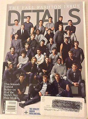 Details Magazine Fall Fashion Issue September 2015 081317nonrh