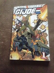 Classic g.i Joe volume 1 book