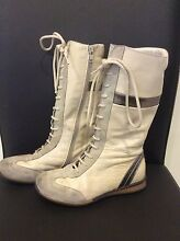 Leather girls boots Campbelltown Campbelltown Area Preview