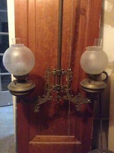 Cast iron hanging lamp