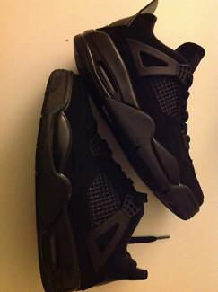 Jordan 4's all black, size 5.5us 22.5cm Woonona Wollongong Area Preview