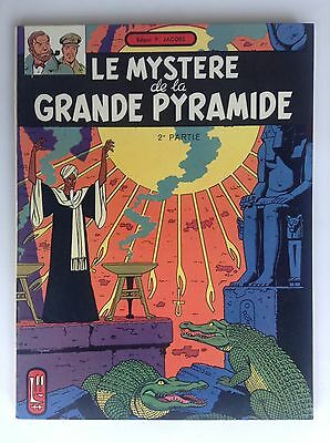 Le mystère de la grande pyramide 1969  PROCHE NEUF Blake et Mortimer