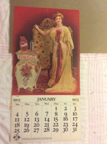 Coca-Cola Collectible 1978 75th Anniversary Calendar- New Old Stock