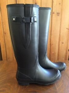 Hunter Norris Field Side Adjustable Boots NEW 9Mens/10Females