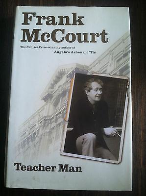 Teacher Man : A Memoir by Frank McCourt (2005, Hardcover) STORE#3582 (Teachers Store)