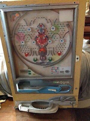 Vintage Nishijin Pachinko SuperDX Pinball Machine.