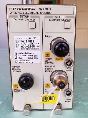 Agilent 83485a Optical Electrical Module With Option 32