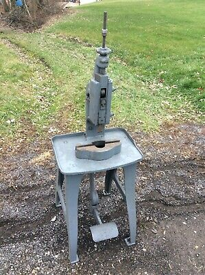 Jewelry Foot Kick Press Famcoroyersford10etc Freight Or Local Pickup