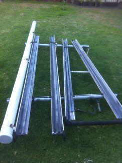 (Rola( roof rack sliding ladder system) Milperra Bankstown Area Preview