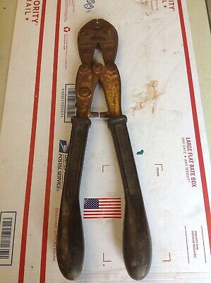 Vintage Nicopress Sleeve Crimping Tool 53-xmj Vtg National Telephone Supply Co.