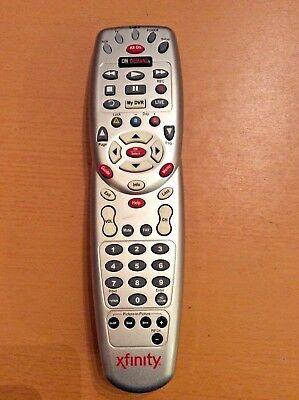 Comcast Xfinity Original Cable Box Remote Control HDTV Digital TV On Demand Gray for sale  Seattle