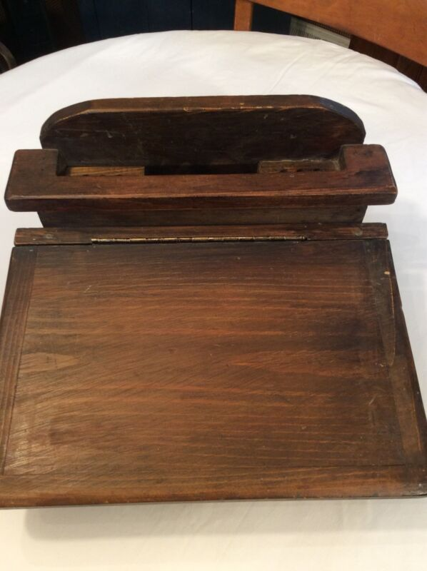 Antique/Primitive Wood Lap Desk