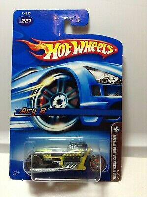 HOT WHEELS AIRY 8 - 2006 - MYSTERY CAR - GREEN/YELLOW