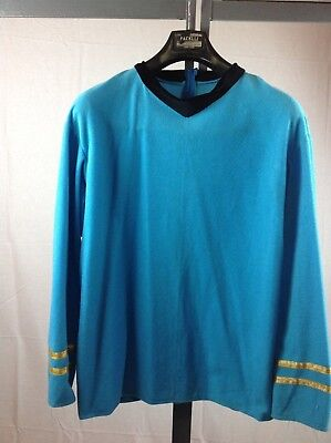 Star Trek Spock Original Series Blue Shirt First Officer Spock - Star Trek Blue Shirt Character