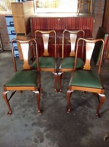 4 Antique Blackwood Chairs Morwell Latrobe Valley Preview