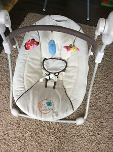 Our Secret Garden Baby Rocker Swing Seat RRP $149.95 barely used Paradise Point Gold Coast North Preview