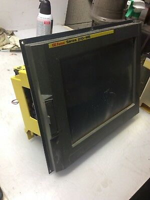 12 Fanuc 210i-mb Display Unit W Pc A13b-0196-b013 Mfgd 2004.04 Warranty