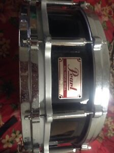 """5.5"""" Pearl free-floating snare drum"""