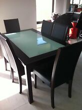 Dining table and 6 chairs $200 Ono Byford Serpentine Area Preview