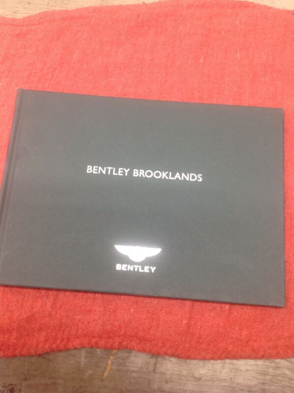 2008-2011 Bentley Brooklands Media Press Information Kit Hardcover Brochure